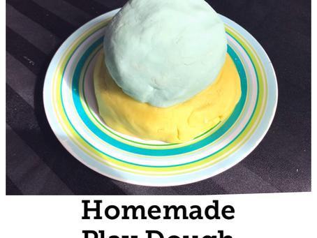 DIY Homemade Play  Dough for Toddlers & Preschoolers