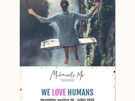 WE LOVE HUMANS JUILLET 2020 - LE VOYAGE DE DEMAIN