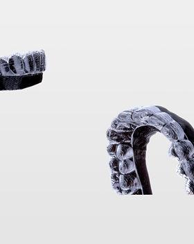 Guardas creadas e impresas por mediteklabs para ortodoncia y alineadores