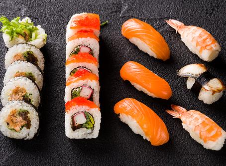 Trying Sushi...