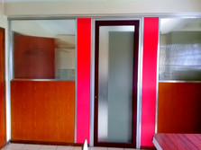 Office Partition with Obscure Glass