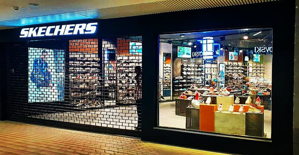Sketchers Shopfront