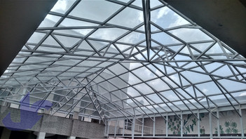Transparent Glass Roofing