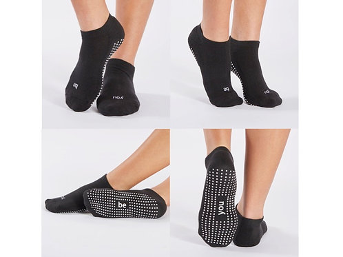 Be You Grip Socks (Black/White) by Sticky Be
