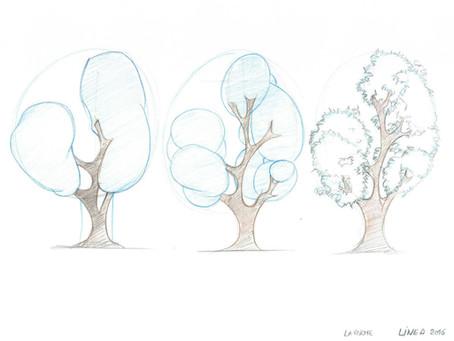 Truc pour dessiner les arbres