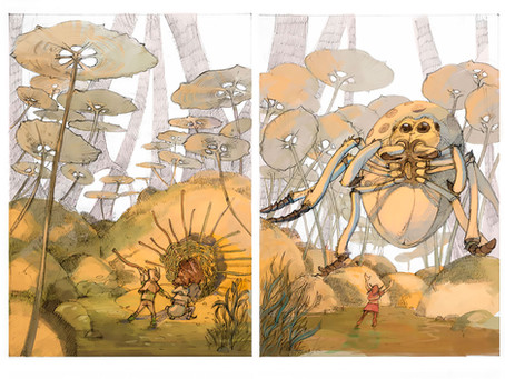 Les Jardins d'Aspartule - un livre de pure Fantasy pour les kids
