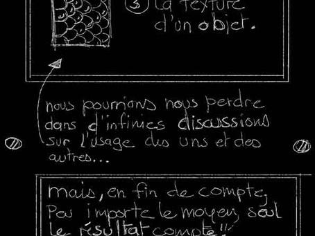 LE TABLEAU NOIR DE LA LINEA - TEXTURE 1