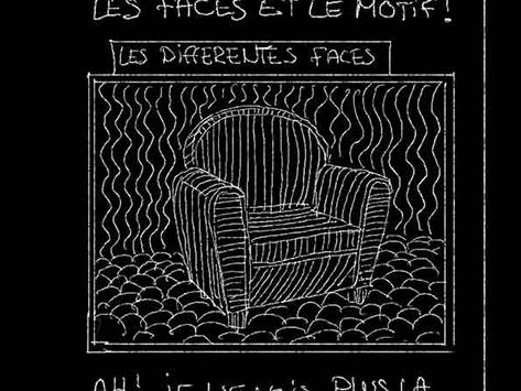Les Tableaux Noirs de Nicolas des ses cours à l'Atelier La Linea