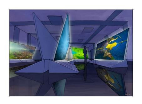 Aquatis - Salle d'exposition
