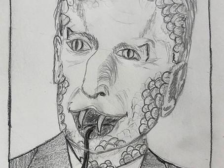 A vos Crayons - Février - Visages