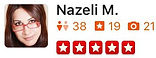U.S. Major Moving Company's Review from Nazeli M.