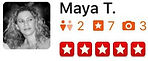 U.S. Major Moving Company's Review from Maya T.