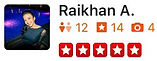 U.S. Major Moving Company's Review from Raikhan A.