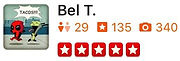 U.S. Major Moving Company's Review from Bel T.