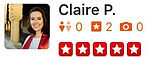 U.S. Major Moving Company's Review from Claire P.