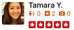 U.S. Major Moving Company's Review from Tamara Y.