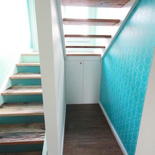 Treppe Altholz Design