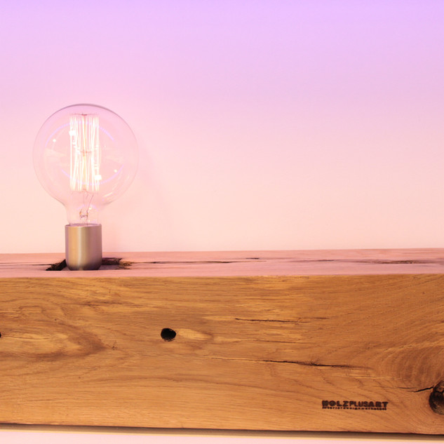 Lampen Altholzdesign