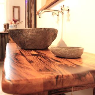 Waschtisch Design Altholz