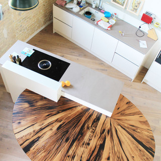 Tisch Altholz Design