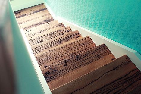 Altholz Design Treppe Tischlerei Kiel Ho