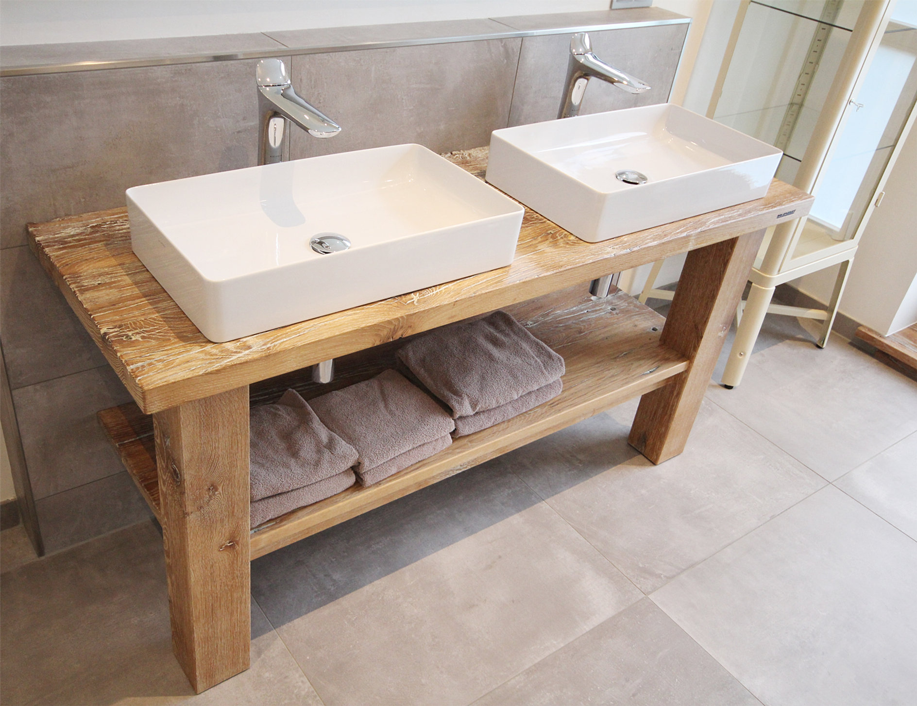 waschtischplatte altholz. Black Bedroom Furniture Sets. Home Design Ideas