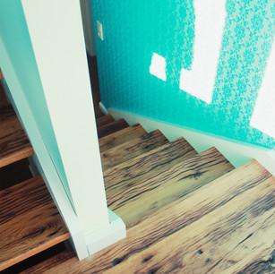 Altholz Design Treppe