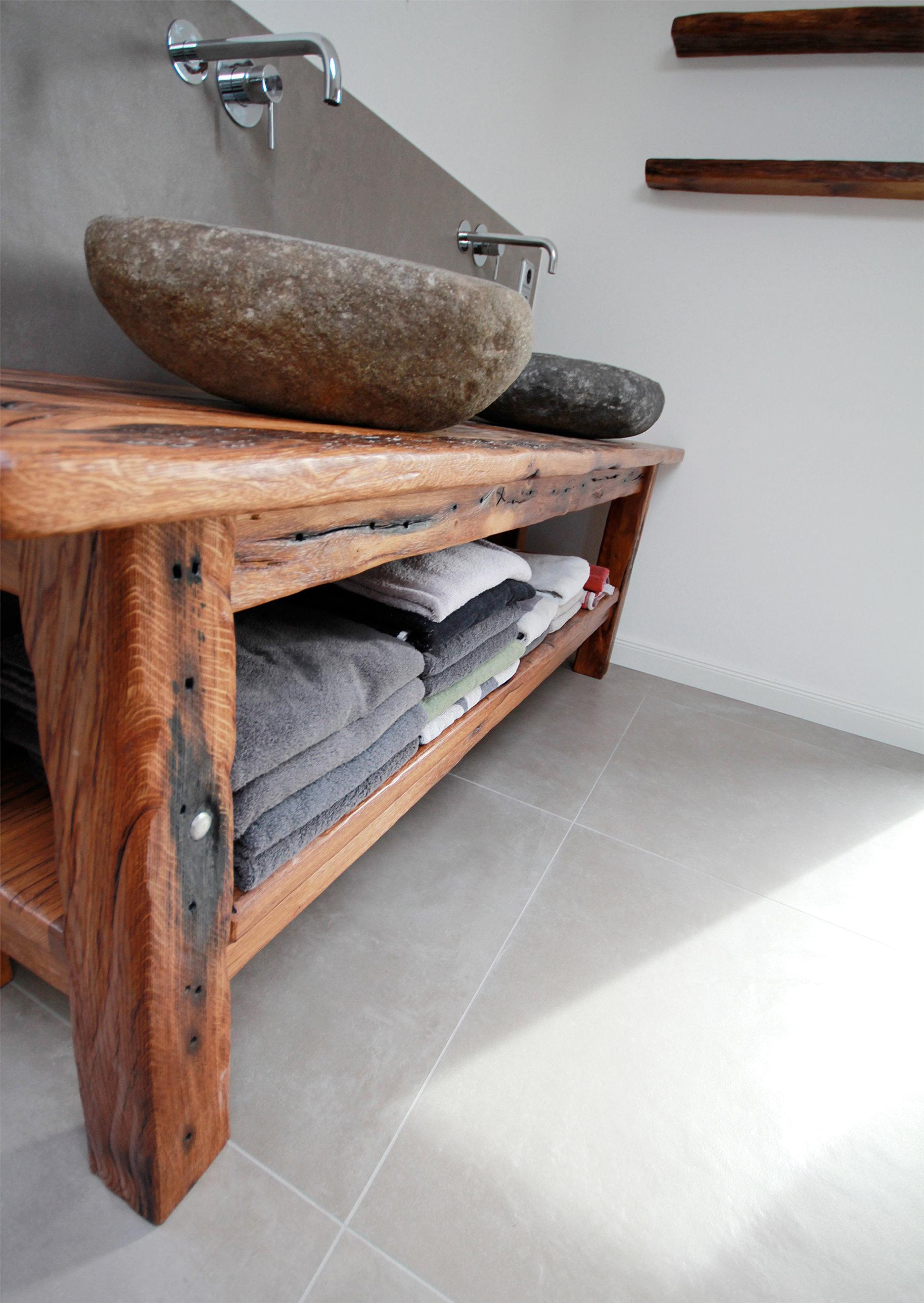 Tisch Für Waschbecken: Design keramik aufsatz waschbecken & tisch ... | {Waschtischplatte altholz 19}