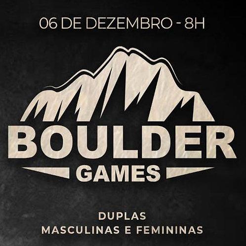 BOULDER GAMES