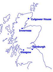 Culgower House map