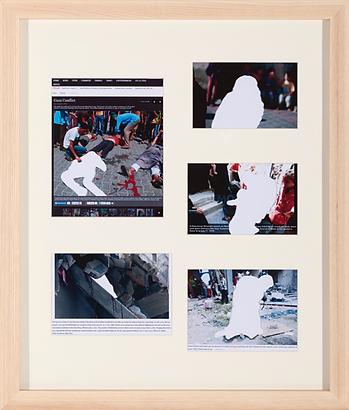 이보람, '희생자-Lamentation 8'을 위한 보도사진자료, 2014