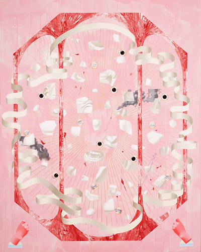 무제 1 / Untitled 1 / 2013 / oil and acrylic on canvas / 193x150cm