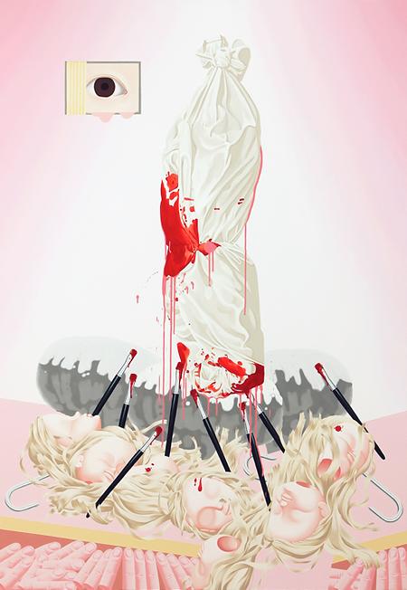 이보람, 희생자-Body Wrapped 2, 2009