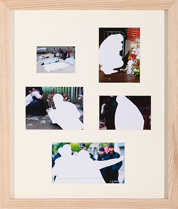 이보람, '희생자-Lamentation 7'을 위한 보도사진자료, 2014