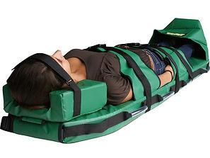 Escape-Mattress® Stretcher headrest