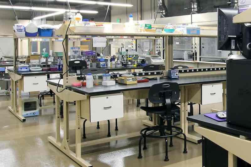 Startup Sandbox Wet Lab in Santa Cruz, California