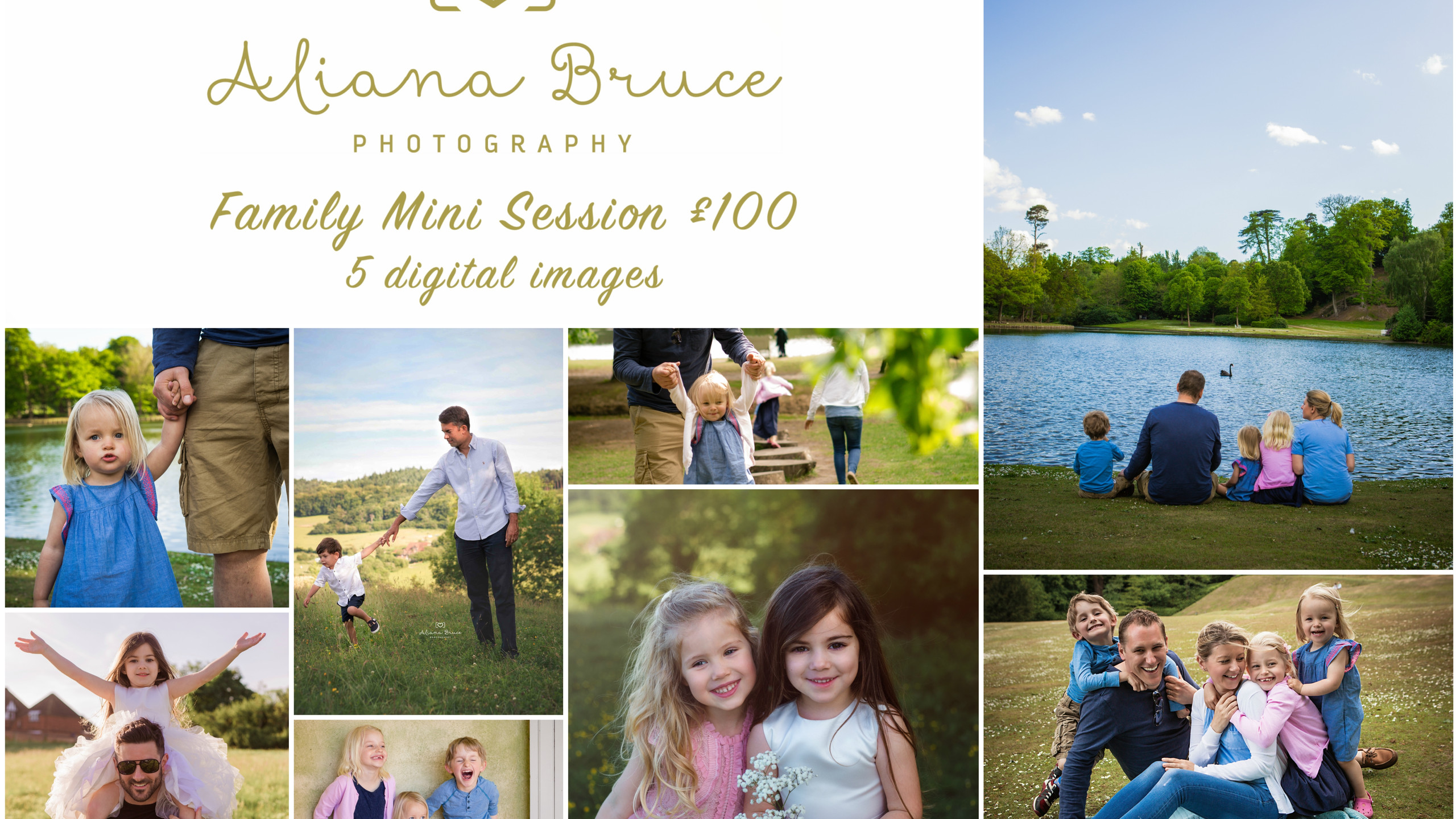 Family Mini Session Collage