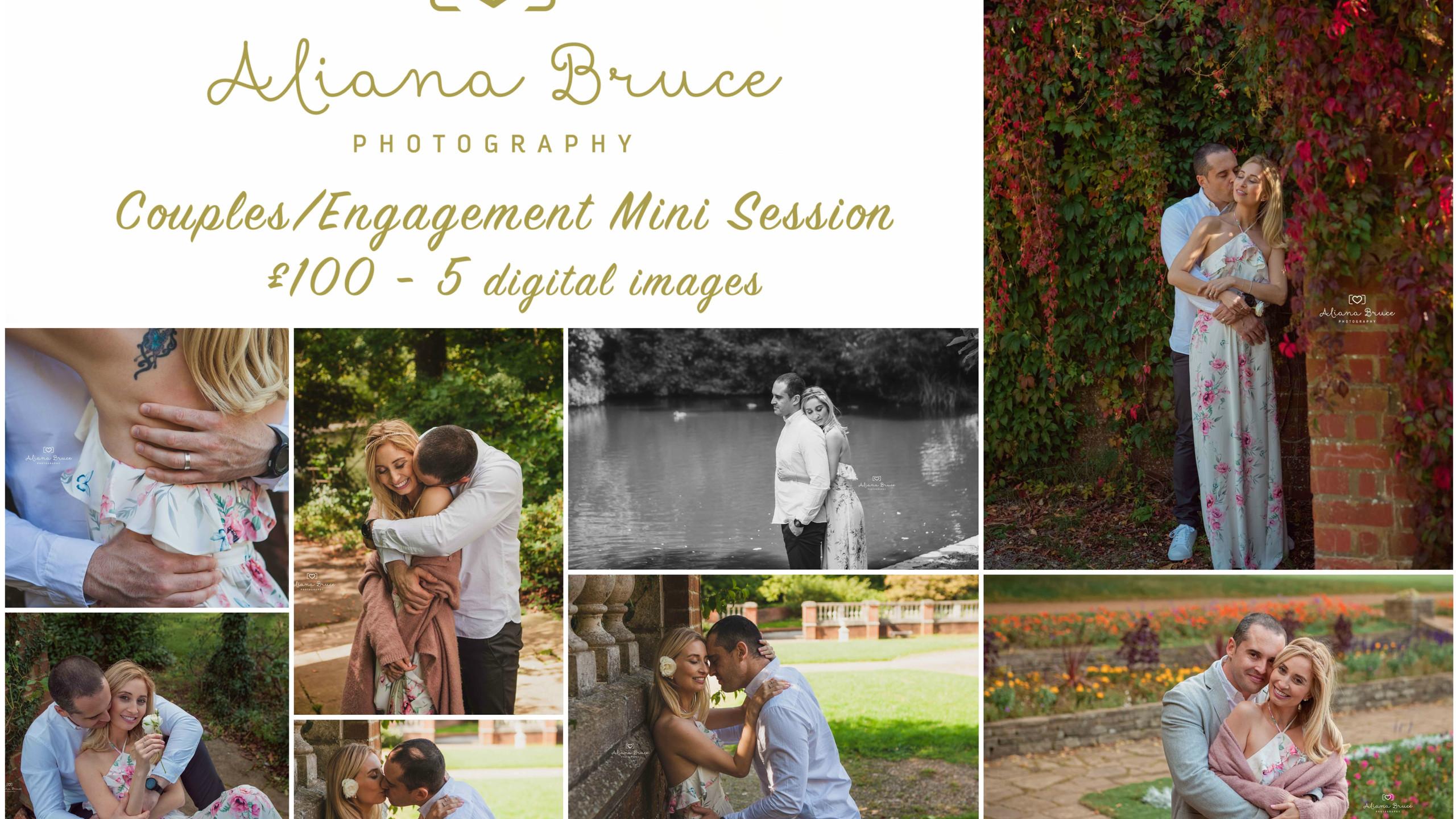 Couples mini Session Collage