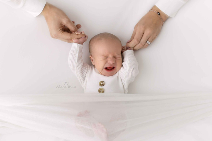 Top tips for Settling a Newborn from a Newborn Photographer in Surrey