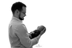 Newborn and dad Photographer Surrey