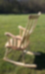 rocking chair handmade