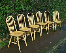 Windsor chair bowback handmade