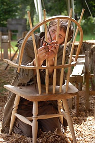The artful bodger, chair making