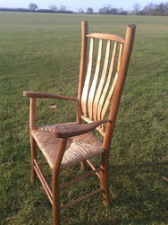 green wood chair, westonbirt