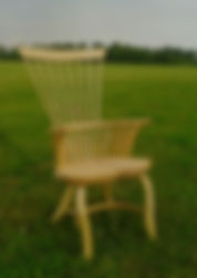 chair, welsh stick, free form, windsor, rustic