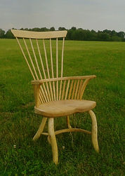 greeen wood, welsh stick chair, westonbirt