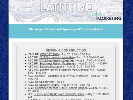 August Networking Calendar
