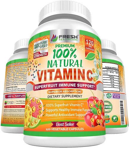 Natural Vitamin C - 100%