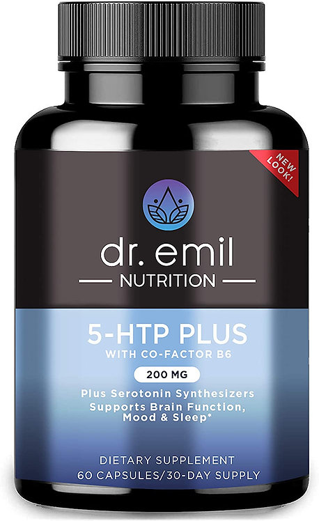 5-HTP Plus Serotonin Synthesizers and Cofactor B6