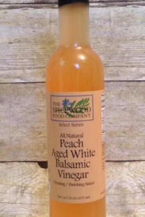 Peach White Balsamic Vinegar 12.7 oz